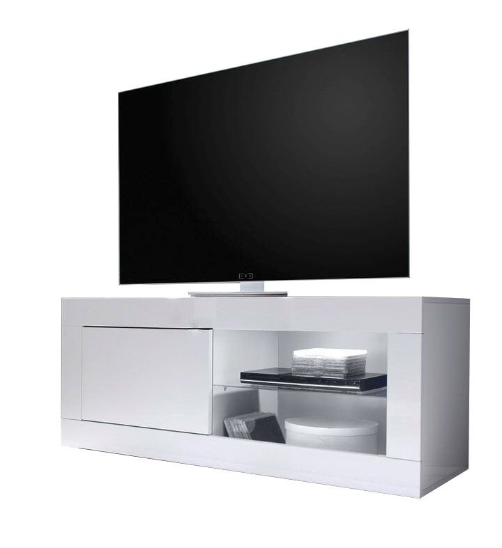 Benvenuto Design Modena TV meubel Small HG Wit