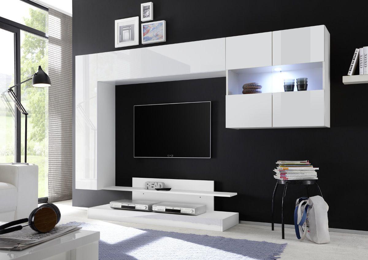 Tv Wandmeubel Wit.Benvenuto Design Novara Tv Wandmeubel
