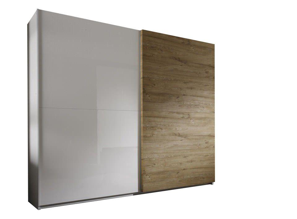 Benvenuto Design Dalino Schuifdeurkast Eiken 280 cm.