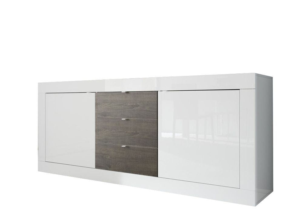 Benvenuto Design Modena Dressoir Big HG Wit/Wenge