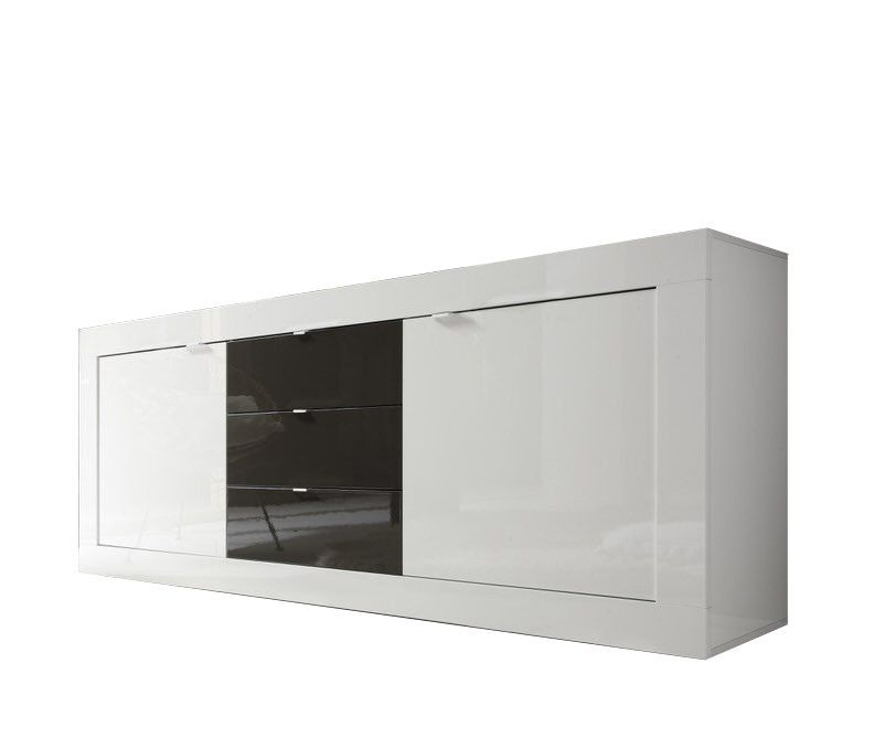 Benvenuto Design Modena Dressoir Big HG Wit/Antraciet