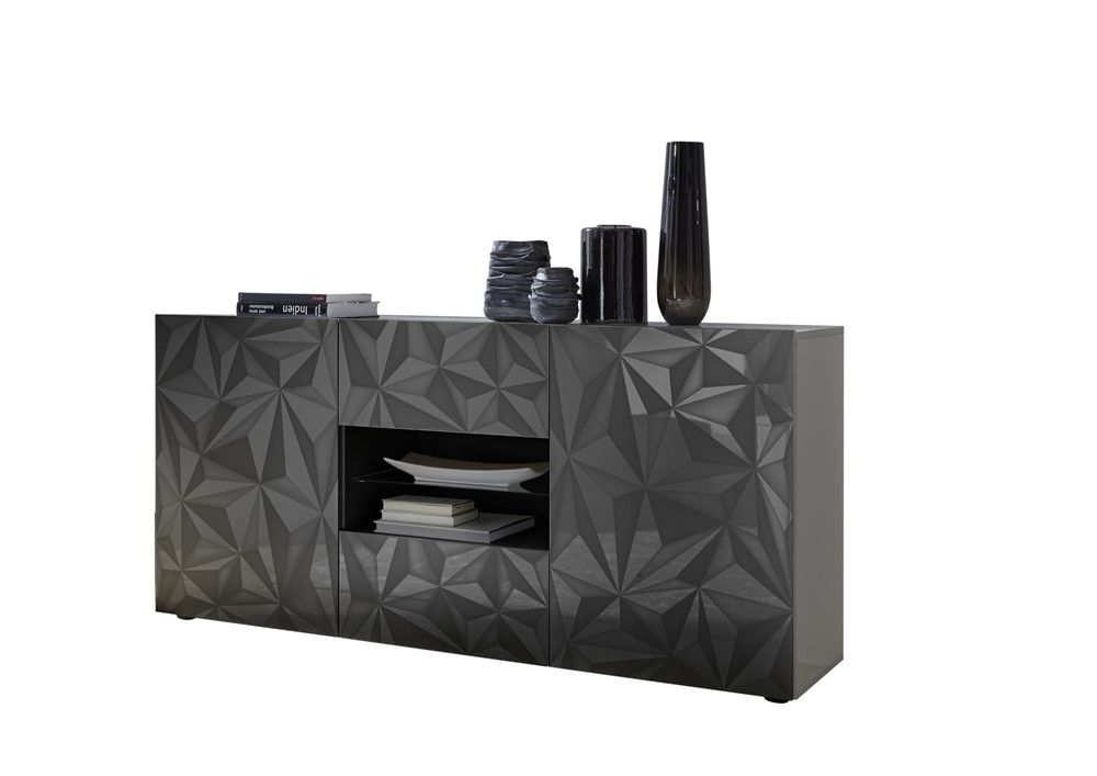 Benvenuto Design Prisma Dressoir Medium Deluxe Grijs