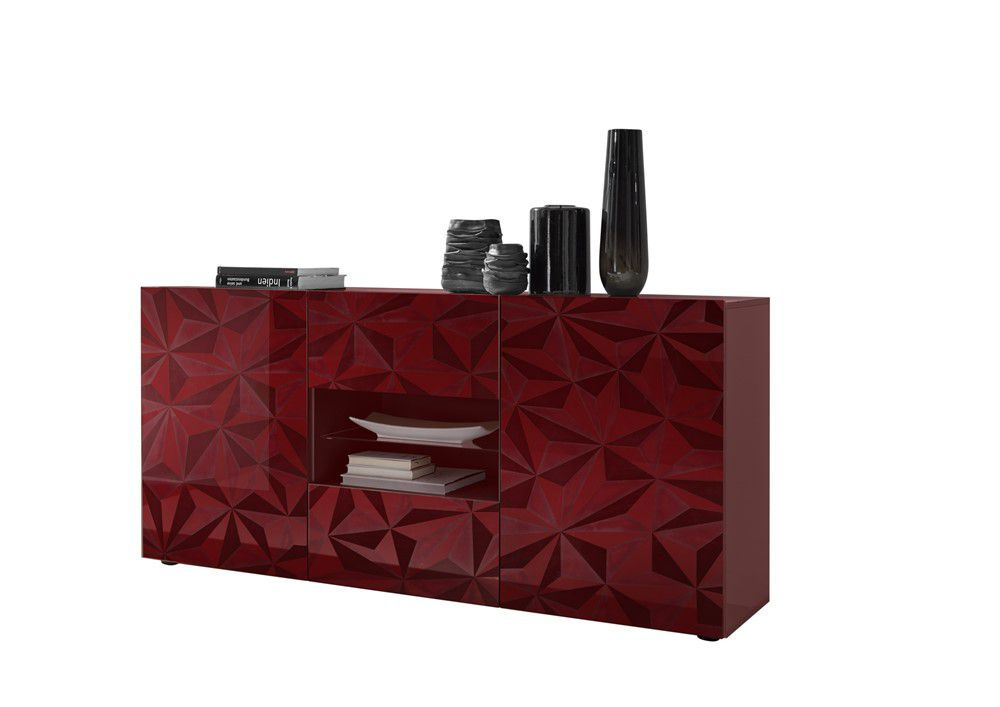 Benvenuto Design Prisma Dressoir Medium Deluxe Rood