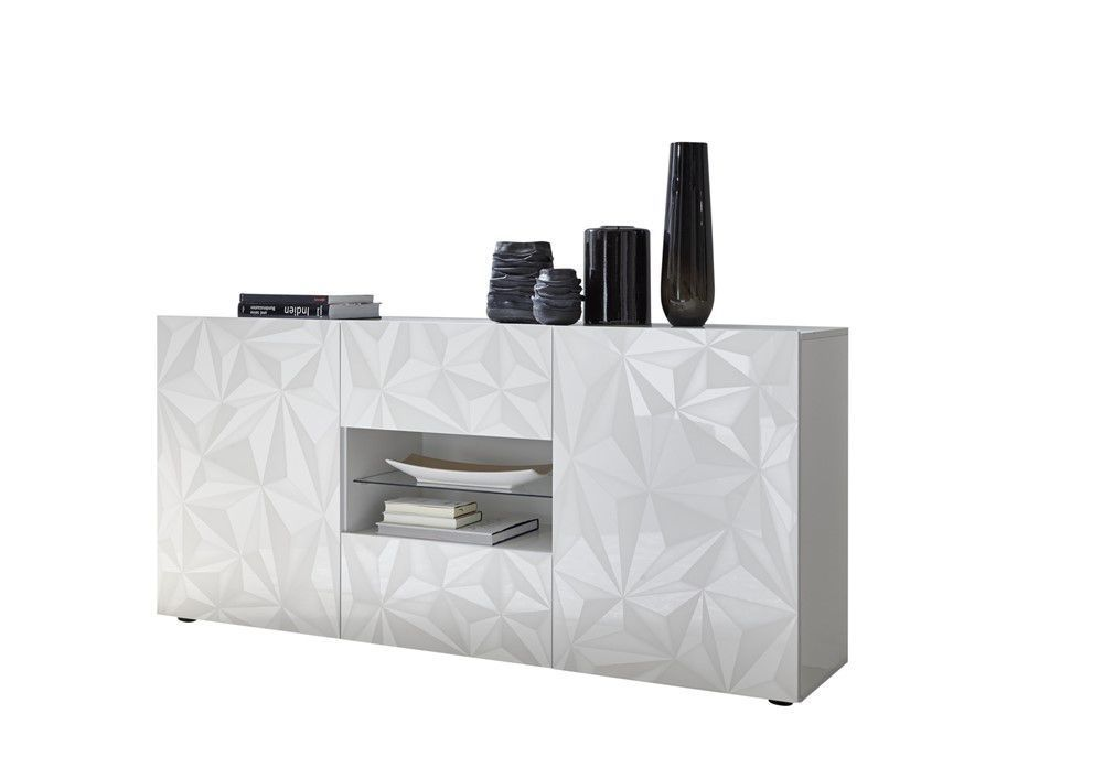 Benvenuto Design Prisma Dressoir Medium Deluxe Wit