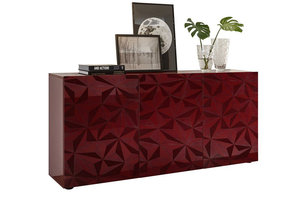 Benvenuto Design Prisma Dressoir Medium Rood