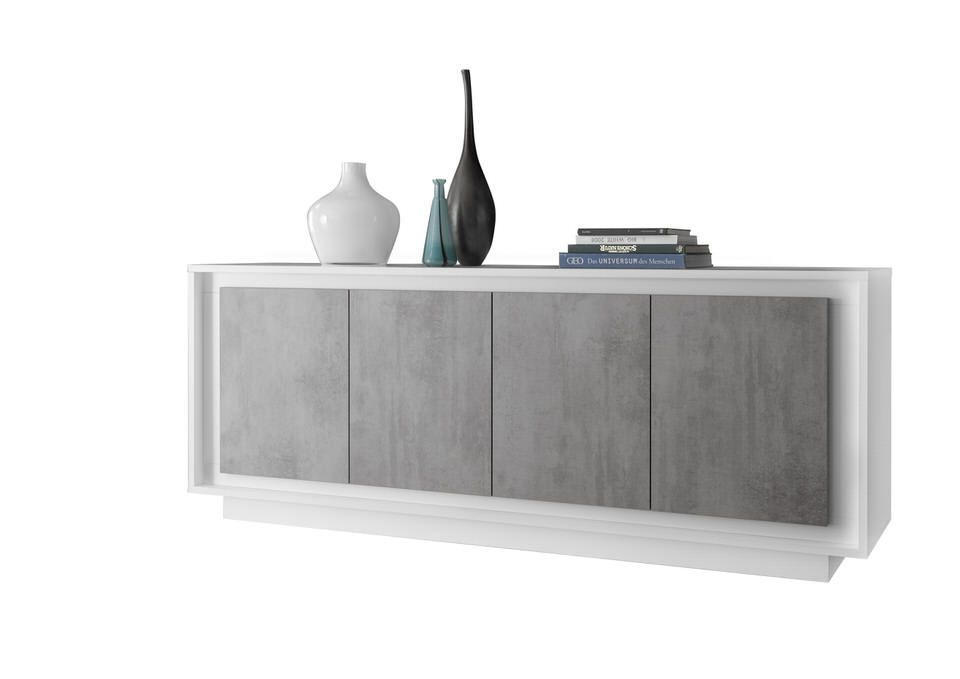 Benvenuto Design Sky Dressoir Cement/Wit