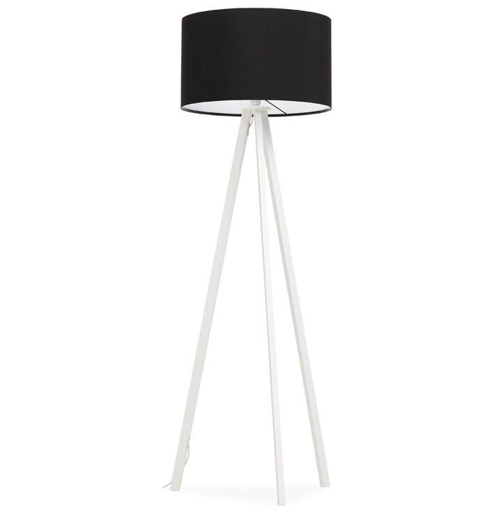 Bondy Living Bluster Vloerlamp Zwart
