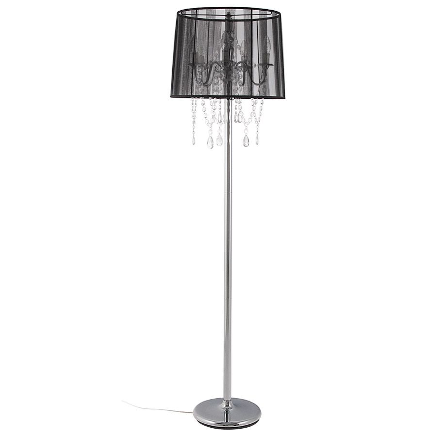 Bondy Living Iraklion Vloerlamp Zwart