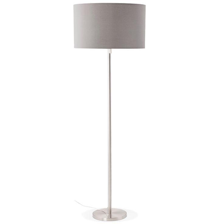 Bondy Living Loek Vloerlamp Grijs