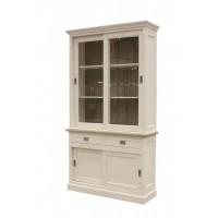 Frans bijnen meubelen newport middle vitrinekast for Ladeblok landelijk
