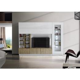 Benvenuto Design Line Compact TV wandmeubel Eiken