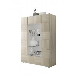 Benvenuto Design Dama Vitrinekast Oak