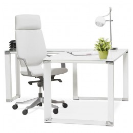 Bondy Living Bandy Hoekbureau Wit glas