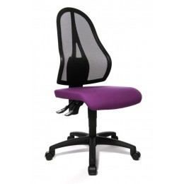 Topstar Purple Bureaustoel