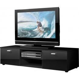 Germania Niven TV meubel Hoogglans Zwart