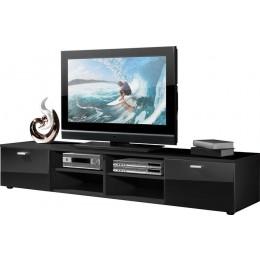 Germania Noven TV meubel Hoogglans Zwart