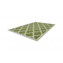 Kayoom Manolya Vloerkleed 160x230 Groen/Wit Outlet