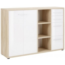 Maja Moebel Set+ Dressoir Large Naturel Eiken/Wit