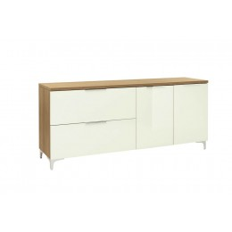 Maja Moebel Shino Dressoir Eiken/Wit