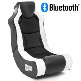 Music Rocker Booster Gamestoel Wit met Bluetooth
