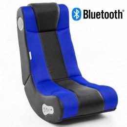 Music Rocker InGamer Gamestoel Blauw met Bluetooth