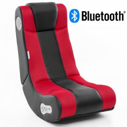 Music Rocker InGamer Gamestoel Rood met Bluetooth