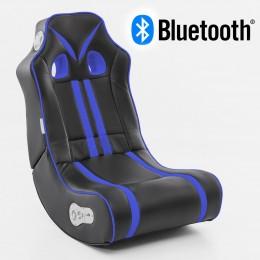 Music Rocker Ninja Gamestoel Blauw met Bluetooth