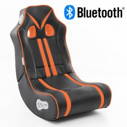 Music Rocker Ninja Gamestoel Oranje met Bluetooth