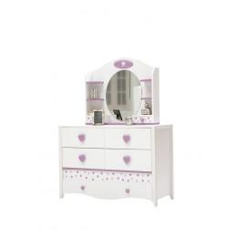Newjoy Princess Commode met spiegel