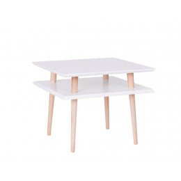 Ragaba Ufo Square Salontafel Medium Wit