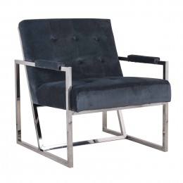 Richmond Interiors Bently Fauteuil Grijs