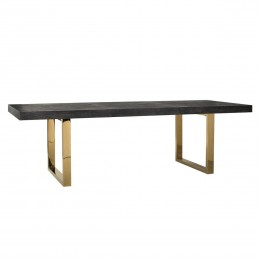 Richmond Interios Blackbone Eettafel Goud