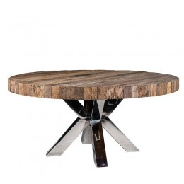 Richmond Interiors Bodhi Eettafel Large Chroom