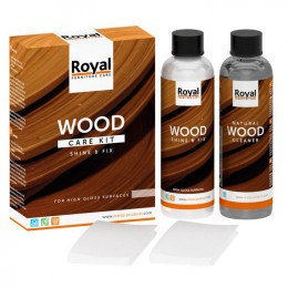 Royal Wood Care Kit Hoogglans