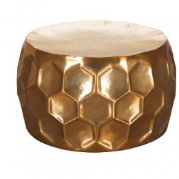 Sky Style Honeycomb Salontafel Goud