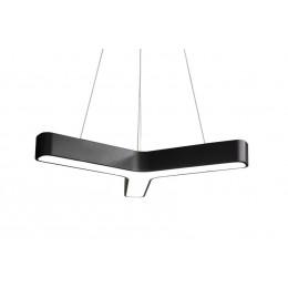 Sky Style Line Led Hanglamp Y-vorm Zwart