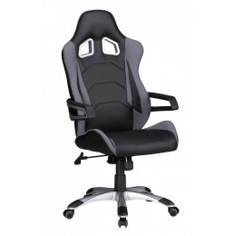 Sky Style Speed Bureaustoel Zwart/Grijs