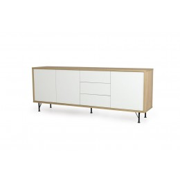Tenzo Flow White Dressoir Medium