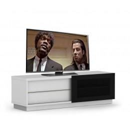 Elmob Harmony Slide TV meubel Wit GEMONTEERD