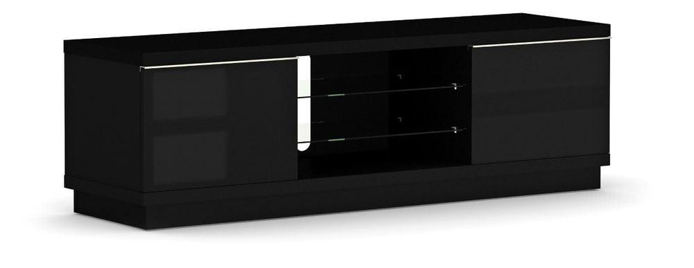 Elmob harmony pure tv meubel kopen bij for Tv meubel glas