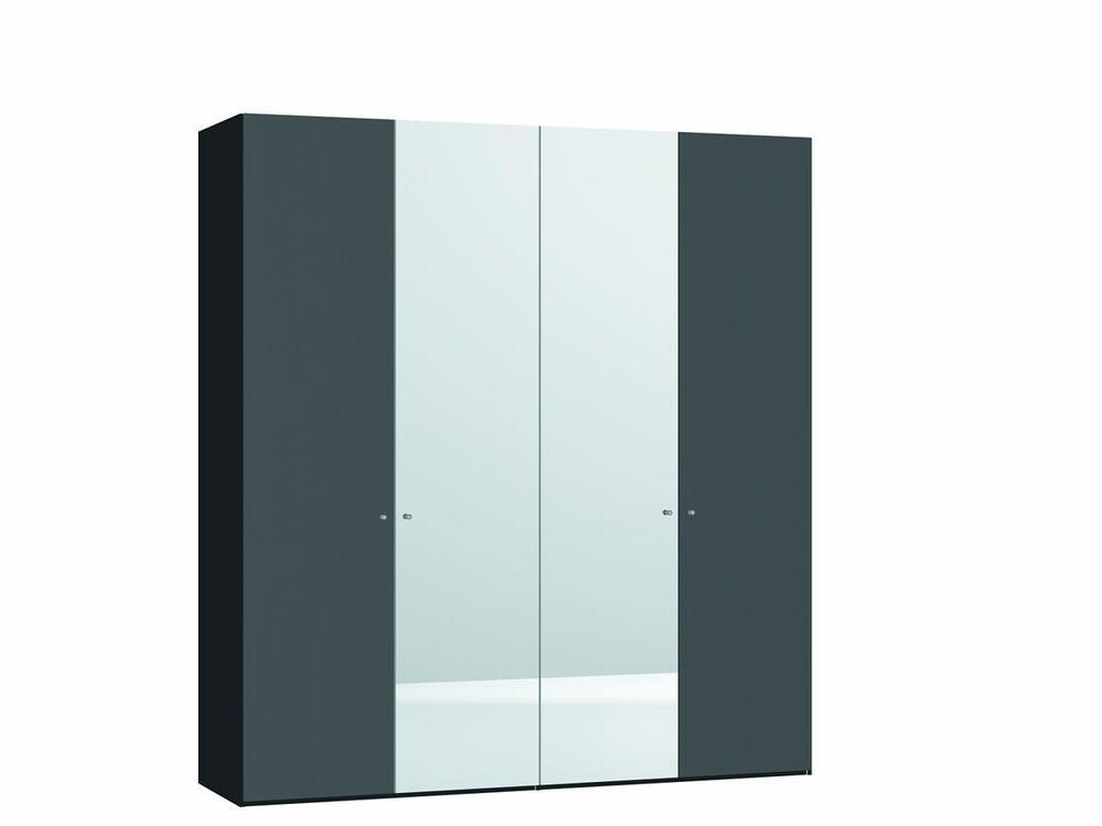 Kledingkast 2 deurs 180x59x50 lichtgrijs deuren grijs ottos aanbieding kopen - Designer kledingkast ...