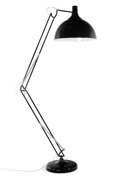 Bondy Living Foga Vloerlamp Zwart