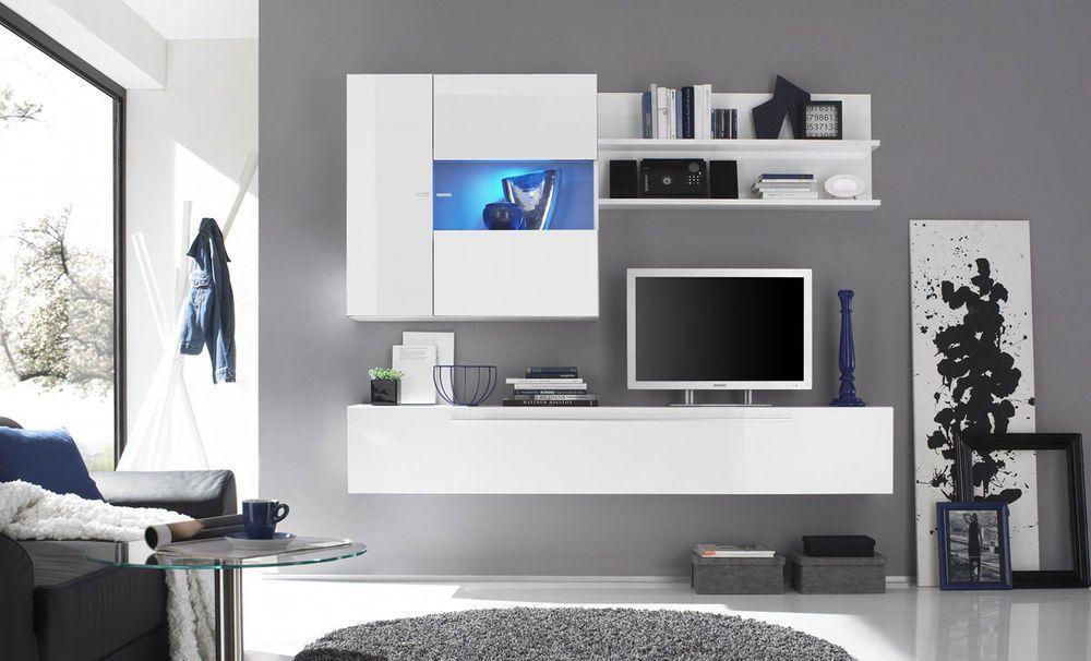 Brede Woonkamer Inrichten : ... tv wandmeubel waarmee je je woonkamer ...