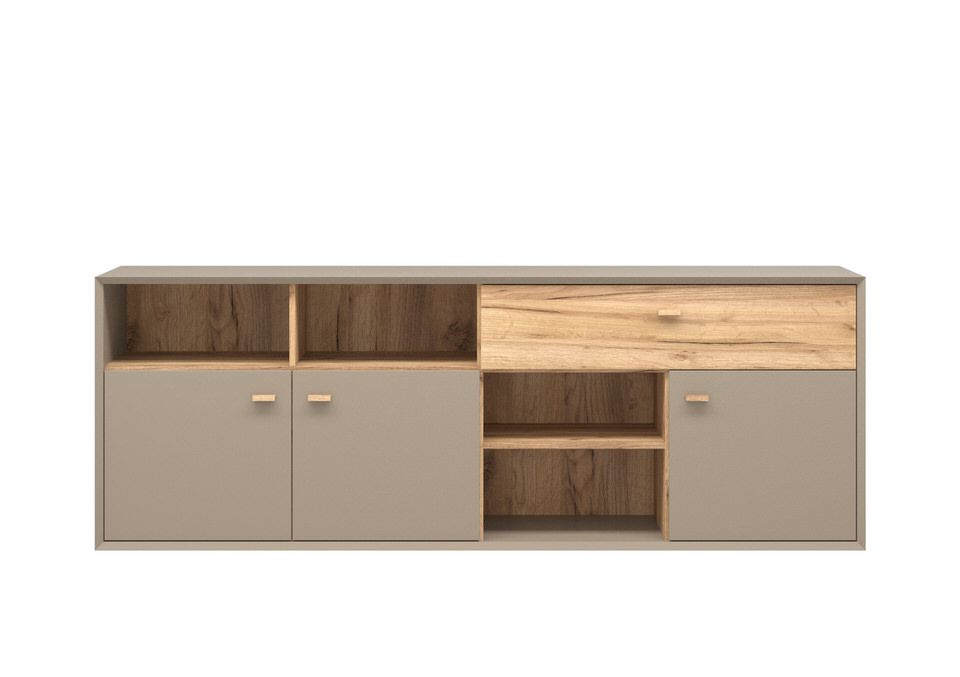 Germania Calvi Dressoir Low Grijs