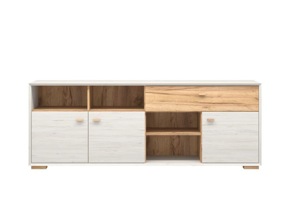 Germania Calvi Dressoir Low Wit Lage Poten