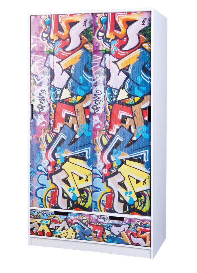 Interlink SAS Graffiti Kinderkledingkast