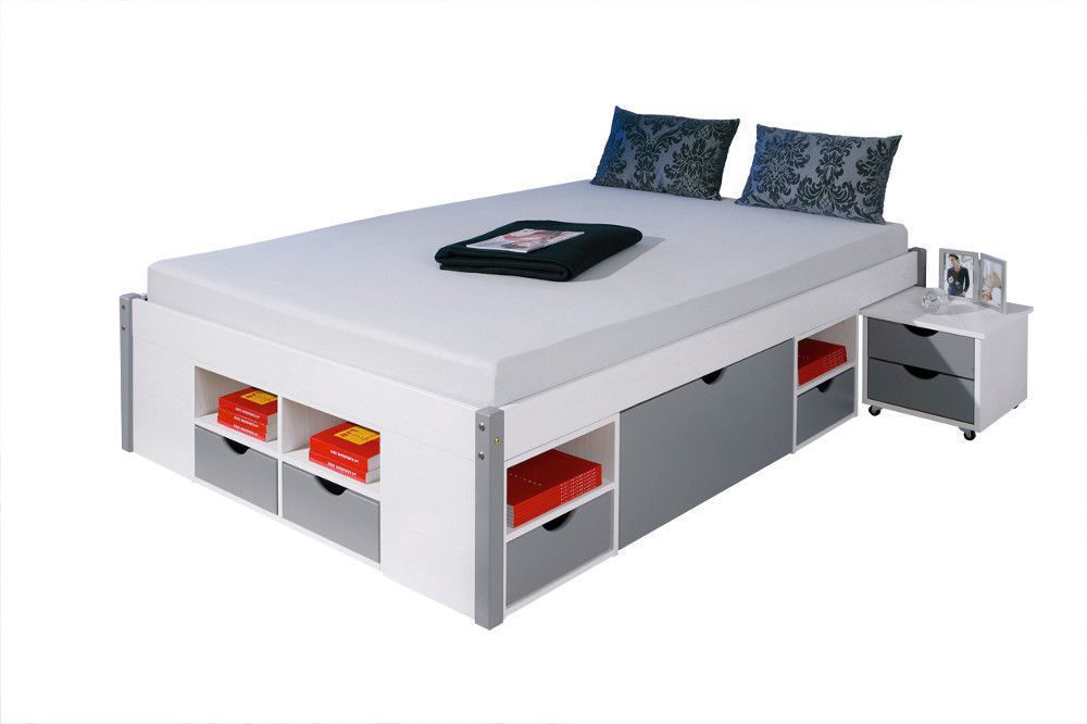 bed ledikant 140x200 kopen online internetwinkel. Black Bedroom Furniture Sets. Home Design Ideas