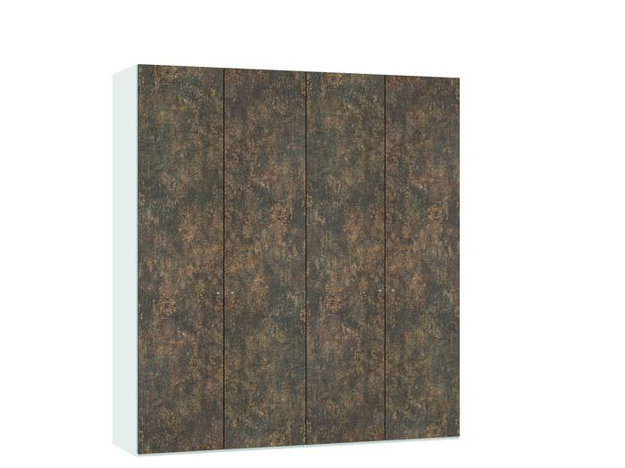 Judine Ferro Draaideurkast Brons/Wit 4 deurs