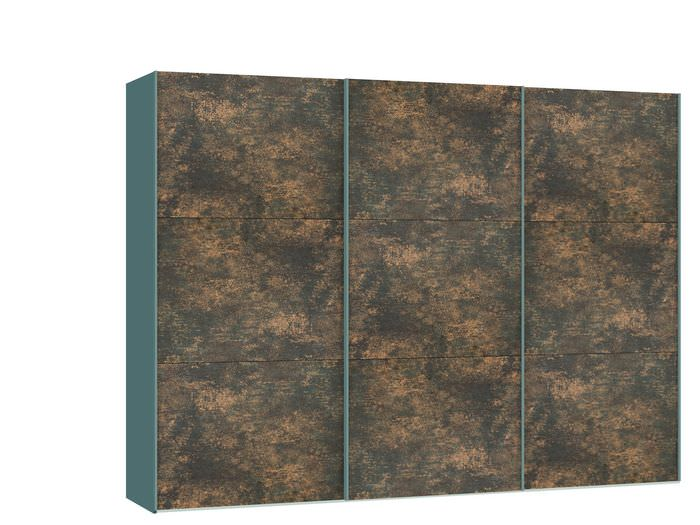 Judine Ferro Schuifdeurkast Brons/Metaal 303.1 cm.