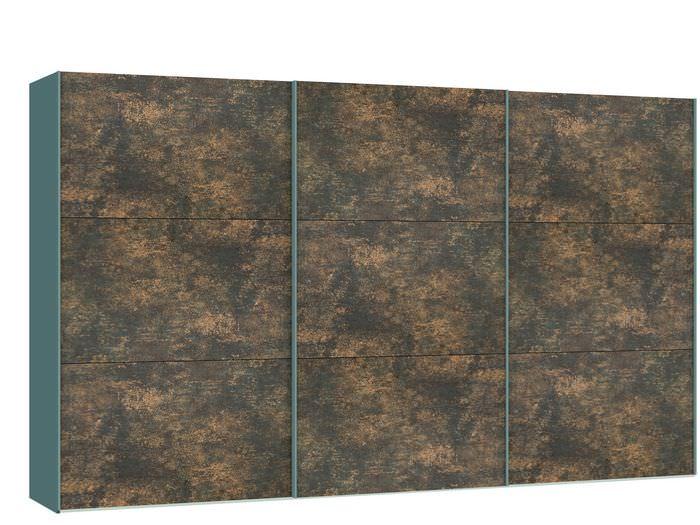 Judine Ferro Schuifdeurkast Brons/Metaal 378.6 cm.